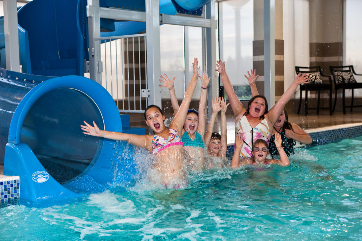 Pool Party at Holiday Inn and Suites Red Deer South