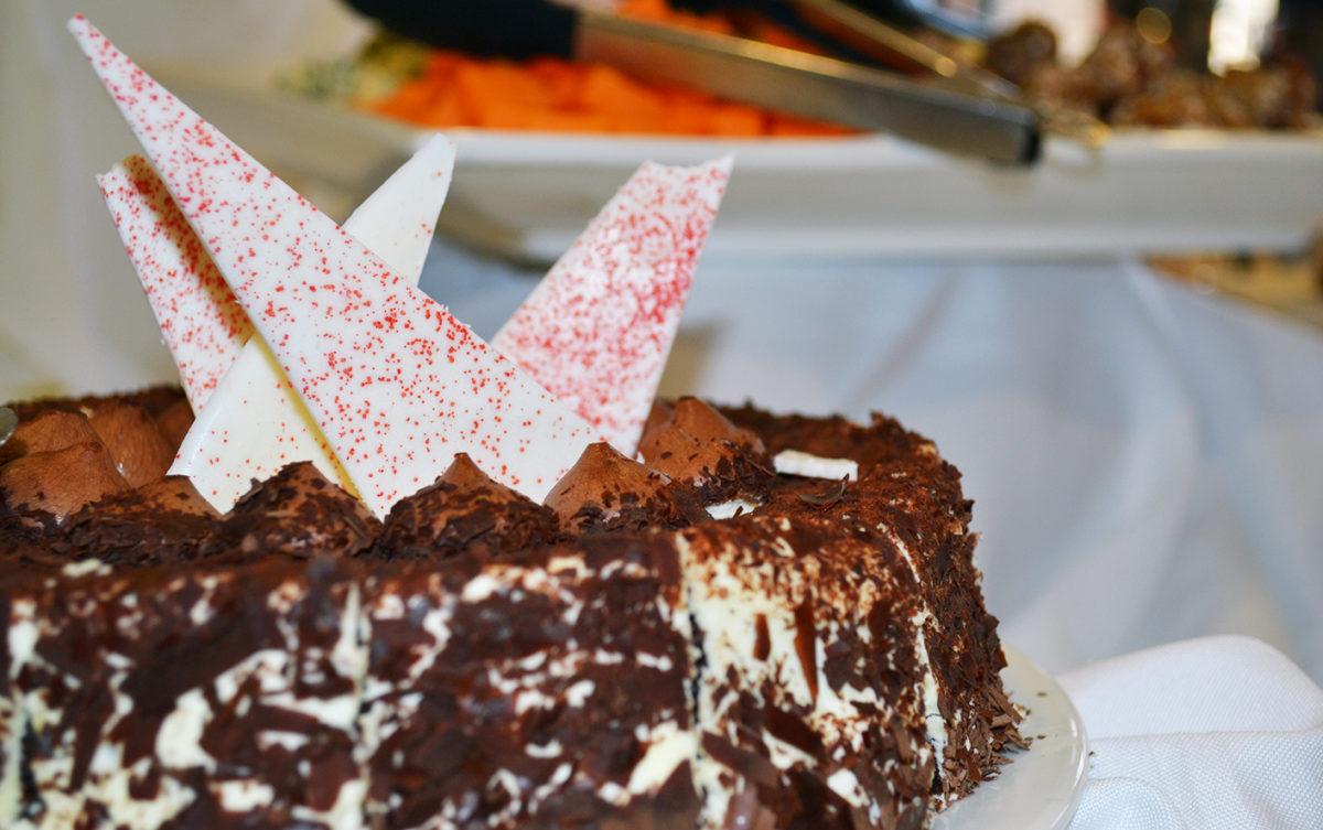 Cake from Boulevard Restaurant