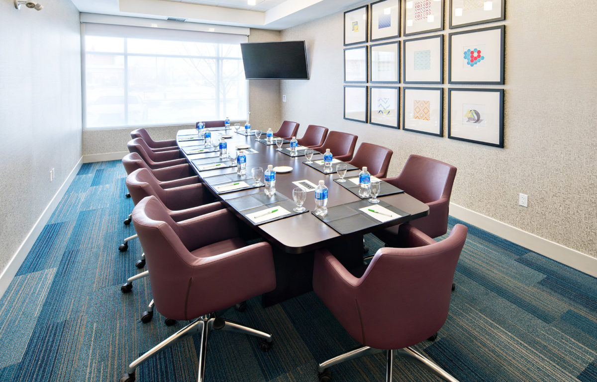 Executive Boardroom at Holiday Inn Express Red Deer South