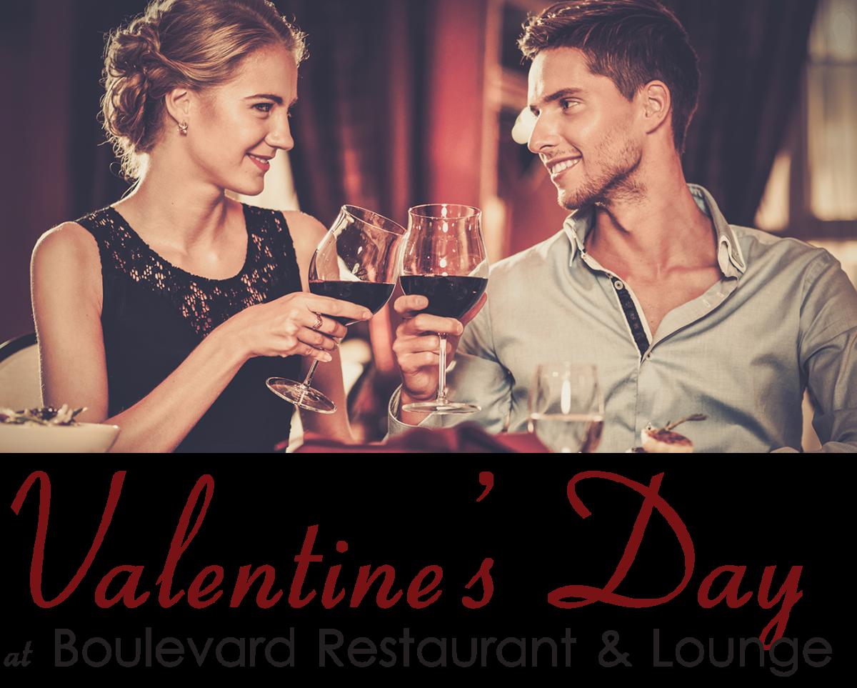 Valentines Day Dinner with Boulevard Restaurant