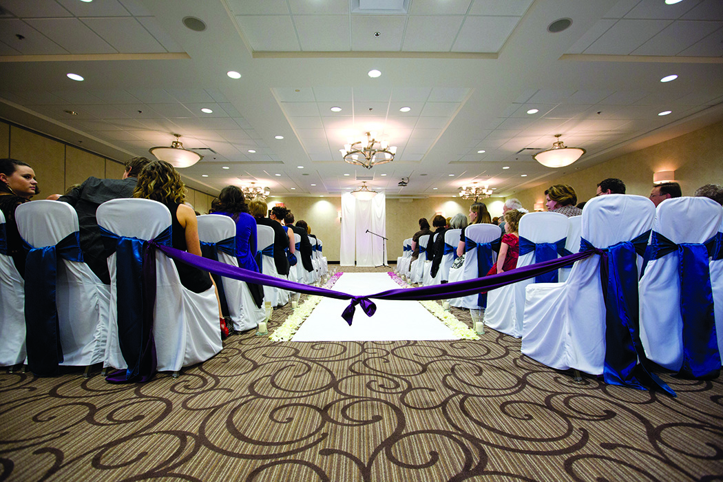 Wedding reception at Holiday Inn & Suites Red Deer