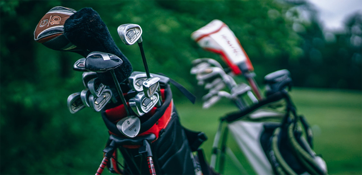 Golfing in Red Deer, Alberta