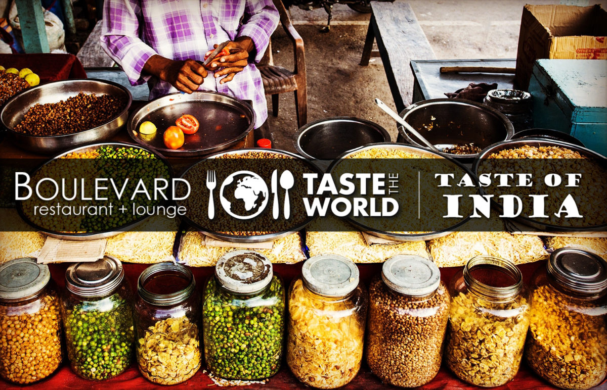 The Taste of India at Boulevard Restaurant in Red Deer