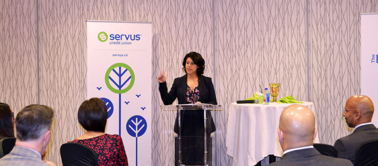 Shazma Charania at Servus The Business Circle
