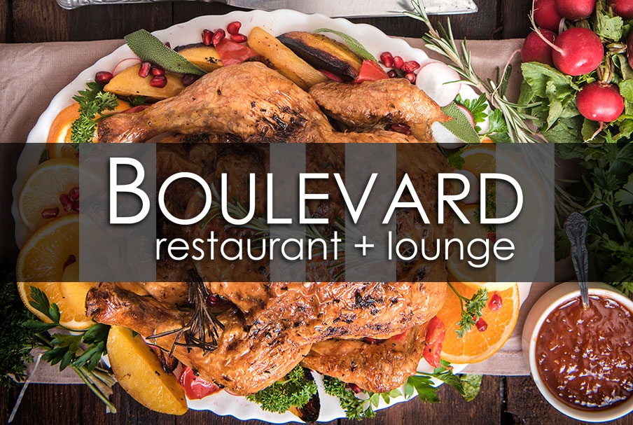 turkey-to-go dinner at Boulevard Restaurant