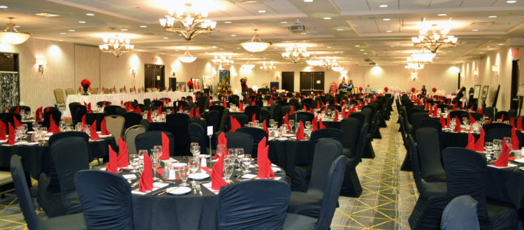 Corporate function in Promenade Ballrooms