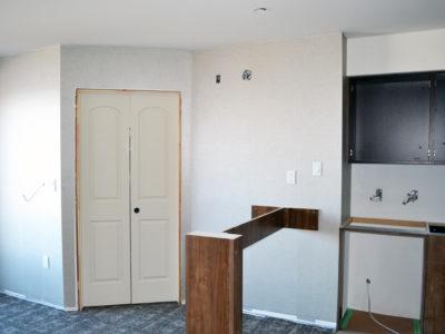 Staybridge Suites Red Deer during construction