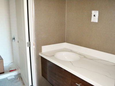 Inside a Suite during the Staybridge Suites Red Deer construction project
