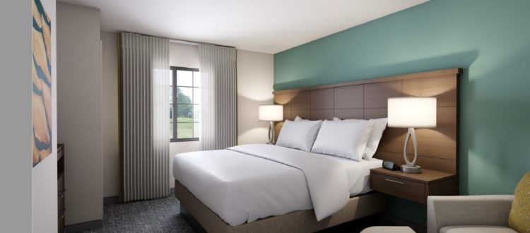Staybridge Suites Hotel Bed