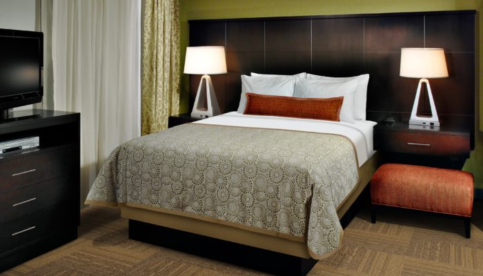 Staybridge Suites Hotel in Red Deer - Queen Bed Studio Suite