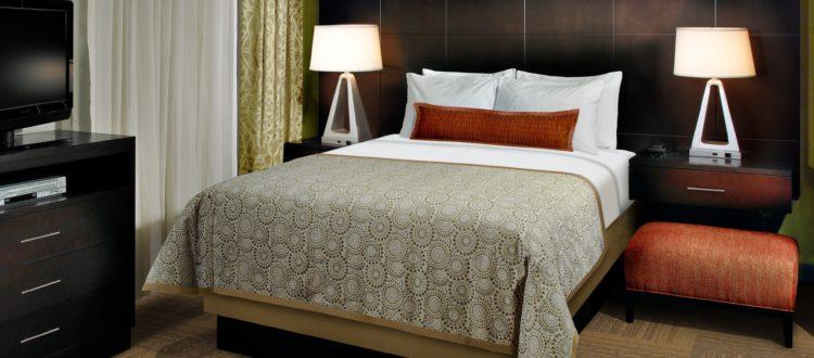 Staybridge Suites Hotel in Red Deer - Queen Bed Studio Suite