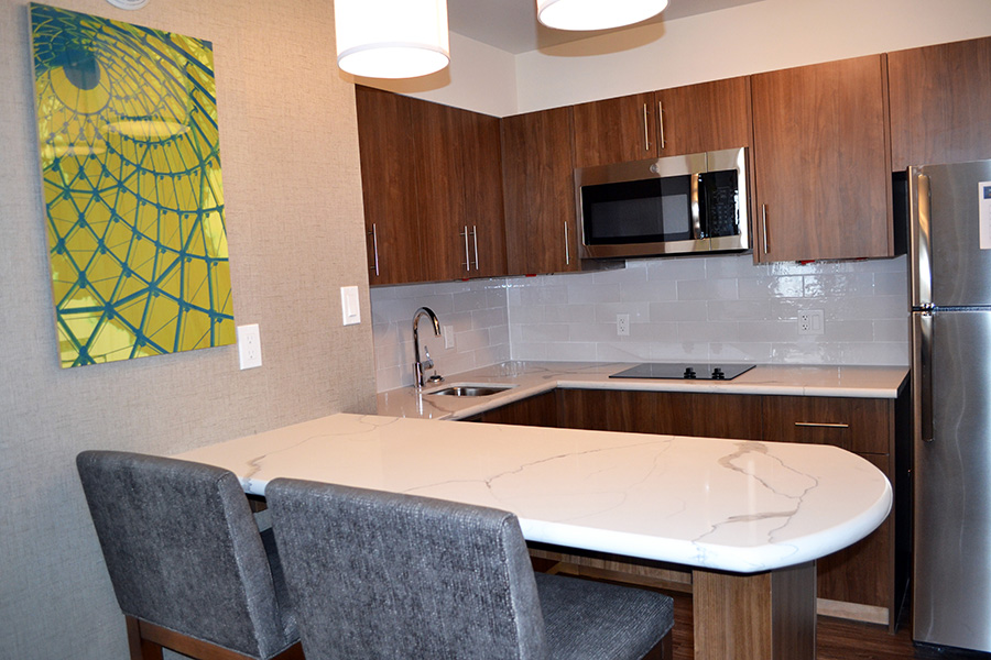 Staybridge Suites Kitchen in Red Deer