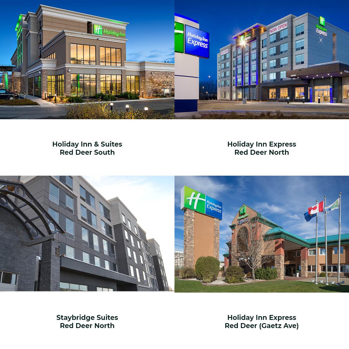 Hotels in Red Deer Alberta