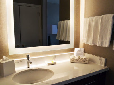 Bathroom Amenities at Staybridge Suites Red Deer North